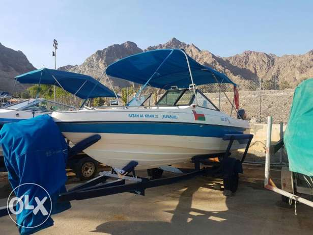 19Ft Gulf Craft day boat, recently refurbished!