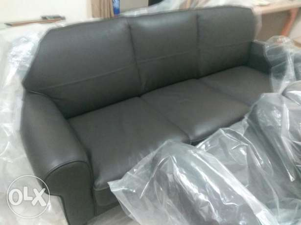 For IKEA lovers -Urgent sale IKEA sofa cool leather Luxury