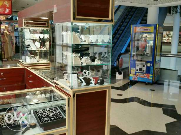 Silver jewellery kiosk for Sale السيب -  4