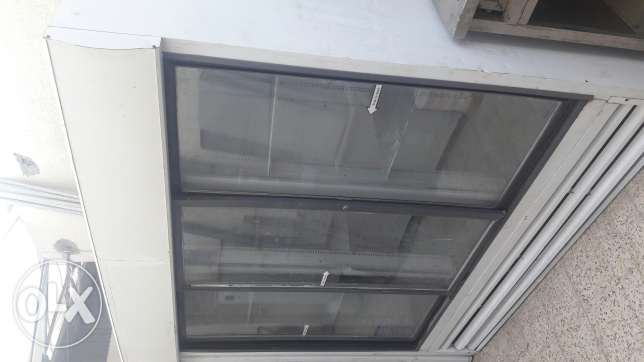 3door glass frige