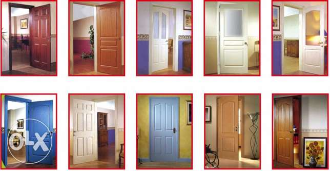 PVC windows, PVC doors, steel doors, wooden doors, shower, work is don مسقط -  5