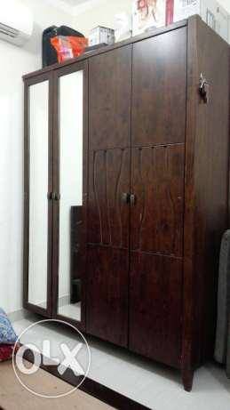 full bedroom set original wood in Alkhwair