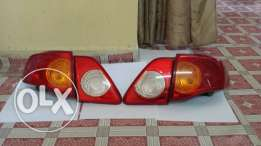 Corolla lights and grill original