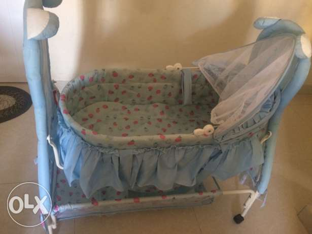 new baby cradle for sale,only one month used السيب -  5