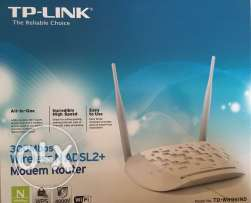 TP link Adsl +router for sale