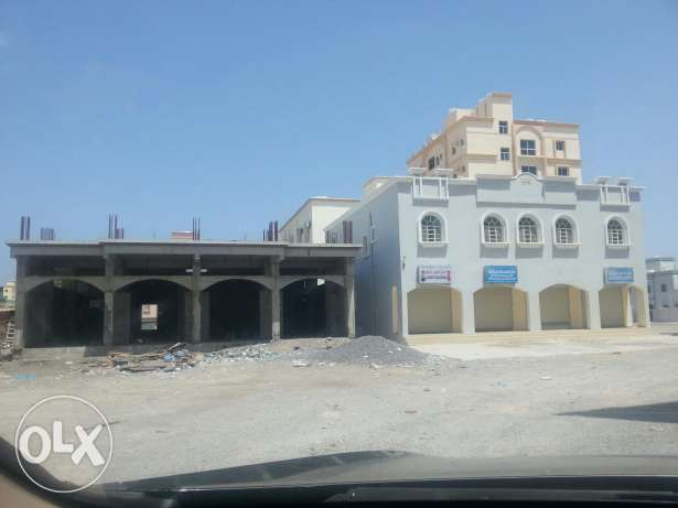 Flat and shops for rent in BARKA