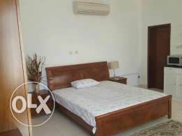 furnished studio with pantry is imme. available in N. Azaiba