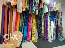 silk and shafon clothing