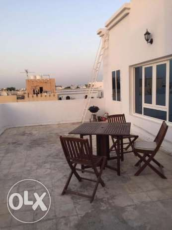 funnished flat for rent in al heil north