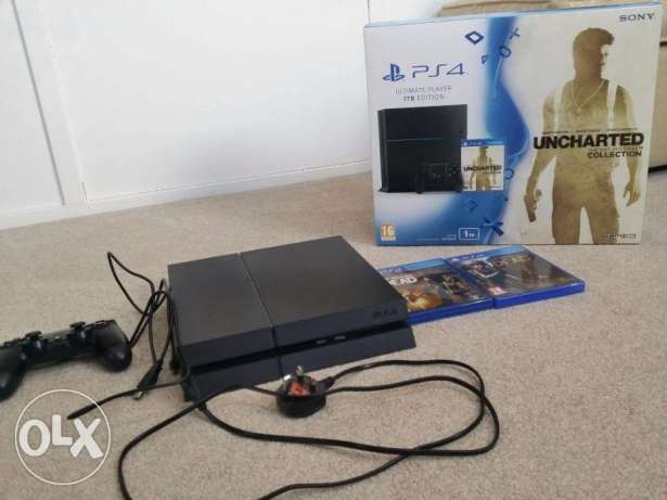 Nva sony playstation 4 ps4 slim 500gb console ضلكوت -  1