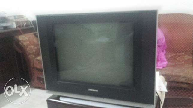 One used samsung tv in good condition for R O 10/- الغبرة الشمالية -  1
