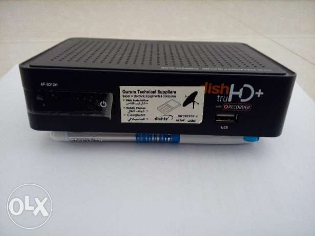 Dish tv Receiver box with antenna مسقط -  1