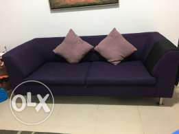 2 sofa from ID Design 3+3 seater 200 omr