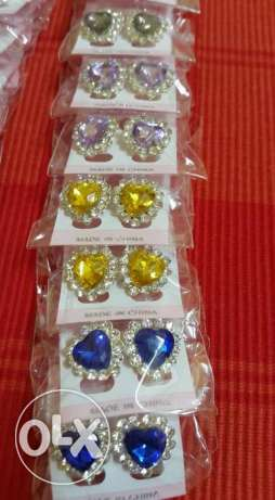 ear tops- 12 pairs- WHOLESALE PRICE