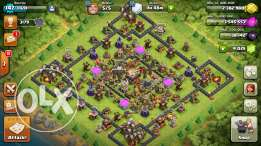 Clash of Clan TH 11 MAXED AQ/BK 27/27 NAME CHANGE 4000 GEMS.