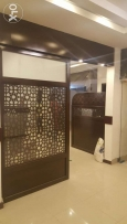 Decor for offices Restaurant and Shop Display Glass and Gypsum work