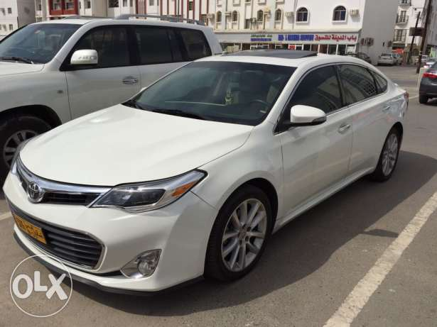 toyota avalon white no 1 American full option