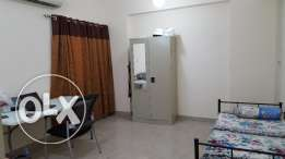 Fully Furnished Bed Space with Attached Toilet for an Indian in Ghala