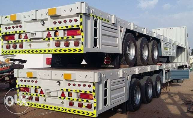 2017 model new flat bed 3 axle for sale