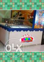 Beautiful & Eligant KIOSK with freezer for sale call ...very URGENTLY.