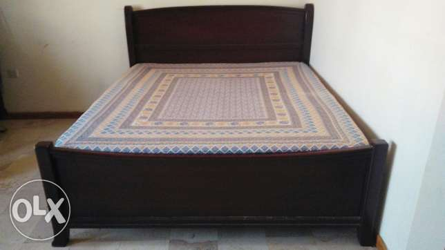 King size double Cot بوشر -  1