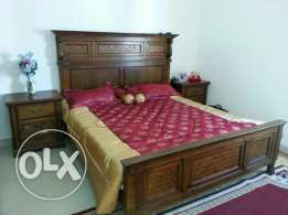 Ghobra Huge Room Semi Furnished Attached Bathroom Without kitchen