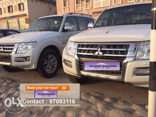 SUV car for daily rent Mitsubishi Pajero 2017 مسقط -  1