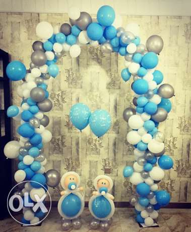 hi sir i wand balloon shop work i do all party if you want opan shop o مسقط -  5