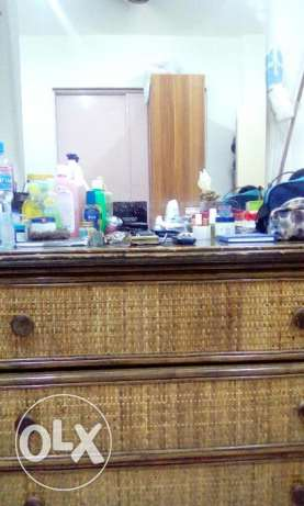 Sofa sets/Cabinet/Drawers with mirror attached/Microwave Oven & Other