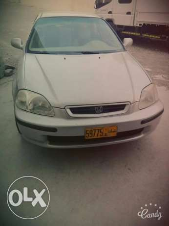 Honda civic good condition car 1997 auto available at ruwi