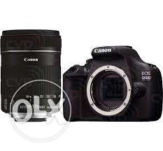 Canon 1200D with 18-135mm for sell