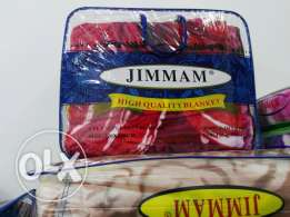 Good quality jimmam double blanket