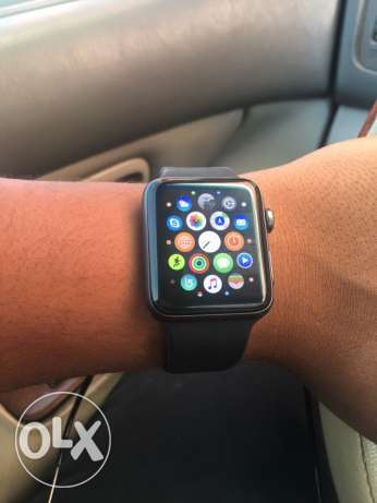 Apple I watch series 2 42mm space grey version