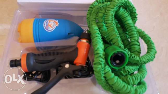 car cleaning full set with 10 meter hose pipe مسقط -  2