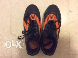 DST soccer shoes technology size UK 2 Eur 34 US 2.5