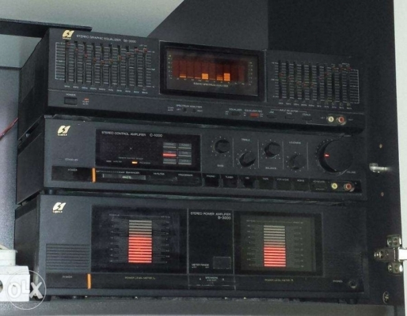 Made in Japan Sansui B3000 audio system for sale