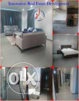 1BR semi furnished Flat in Wave For Rent