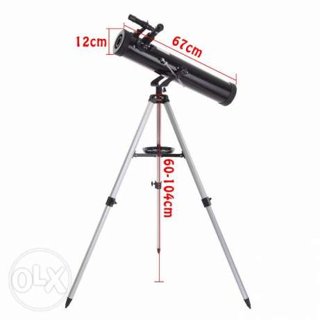 700-76 Reflector Astronomical Telescope Black مسقط -  7
