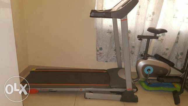 Tredmill n exercise bike