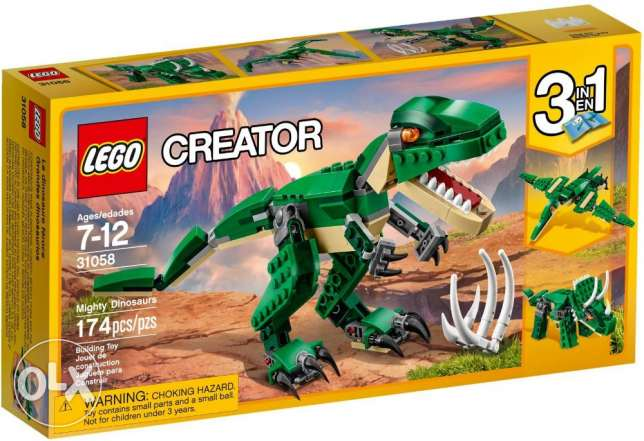 Mighty Dinosaurs Lego 31058