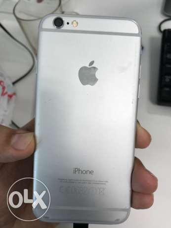 excelent iphone 6 silver مسقط -  2