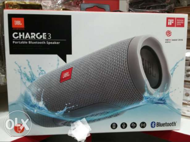 JBL Charge 3 (bluethooth) Brand New