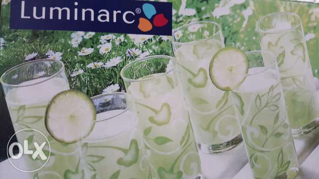 Luminarc Glasses set of 6