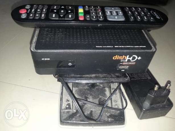 Dishtv Receiver with VC card and remote for OMR 12/-