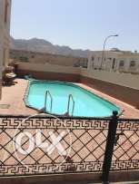 nice furnished villa for rent in bosher almouna for 1200 rial