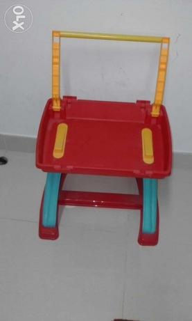 child plastic play table