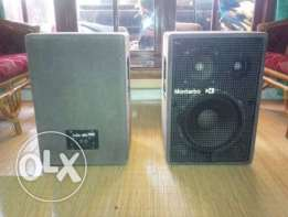 Professional Italian Montarbo Speakers for Events and Shows
