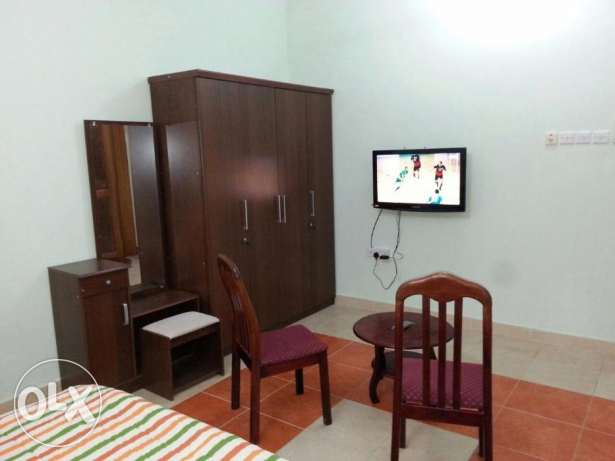 fully furinshed Room in Ghoubra electricty water wifi internet include