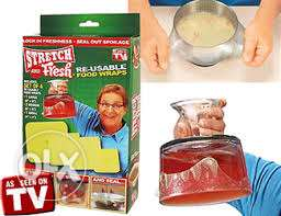 stretch and fresh food cover- 4 pieces