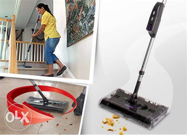 swivel sweeper - cordless - rechargeable